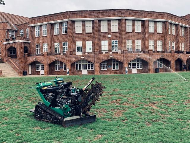 Knox irrigation system installation